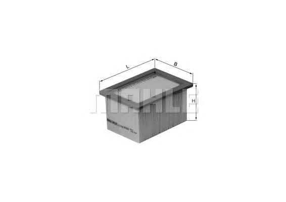 Фильтр воздушный Mahle/Knecht LX1790LX1790