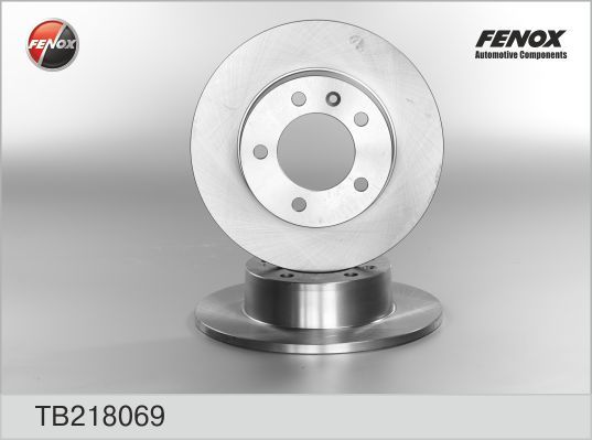 Диск тормозной Fenox TB218069 комплект 2 штTB218069