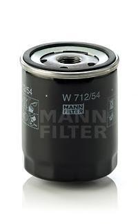 Масляный фильтрMann-Filter W71254W71254