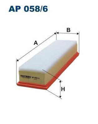 Фильтр воздушный Filtron. AP0586AP0586