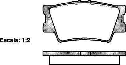 Колодки тормозные дисковые задние Road House 21231002123100