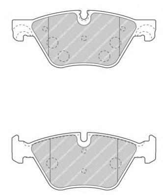 Ferodo Колодки тормозные дисковые Premier. FDB4380FDB4380