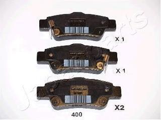 Колодки тормозные дисковые Japanparts PP400AFPP400AF