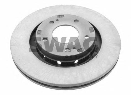 диск тормознойSwag 80928440 комплект 2 шт80928440