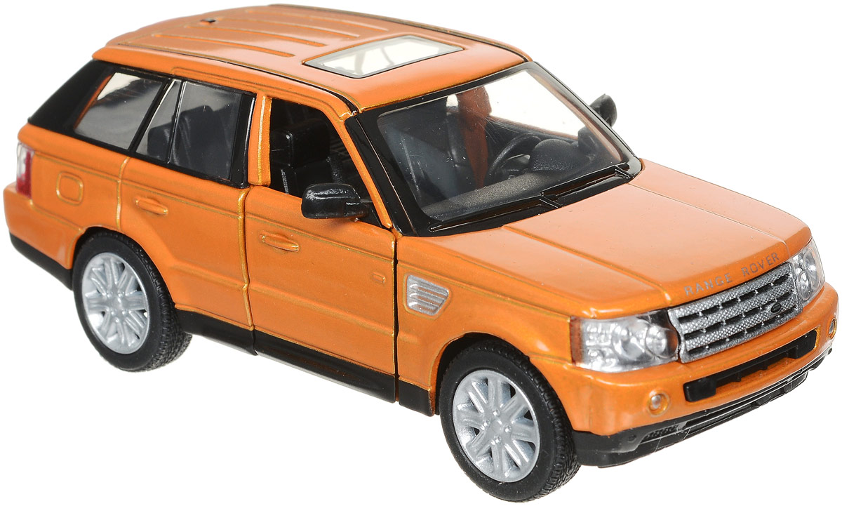 Kinsmart Модель автомобиля Range Rover Sport цвет оранжевый руководящий насос range rover land rover 4 0 4 6 1999 2002 p38 oem qvb000050