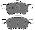 Колодки тормозные передние Mapco 65096509
