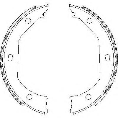 Колодки тормозные дисковые Remsa, комплект. 471600471600