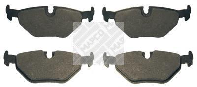 Колодки тормозные задние Mapco 64516451