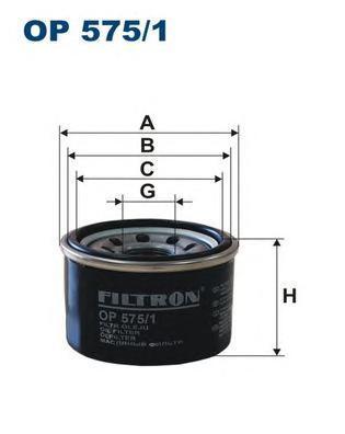 Фильтр масляный Filtron OP5751OP5751