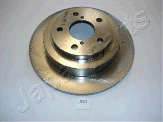 Диск тормозной Japanparts DP701 комплект 2 шт диск тормозной japanparts dp231 комплект 2 шт