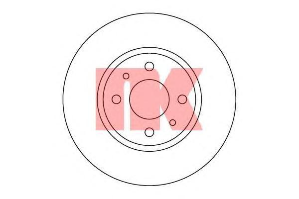 Диск тормозной NK 202336 комплект 2 шт202336