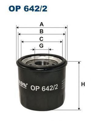 Фильтр масляный Filtron OP6422OP6422