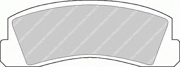 Колодки тормозные дисковые Premier Ferodo FDB195FDB195