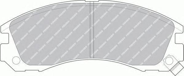 Колодки тормозные дисковые Premier Ferodo FDB765FDB765