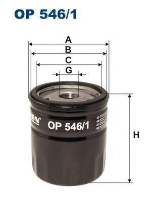 Фильтр масляный Filtron OP5461OP5461