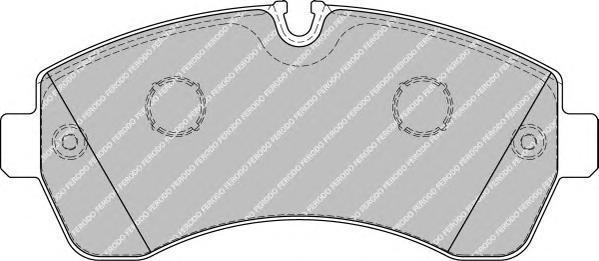Колодки тормозные дисковые Premier Ferodo FVR1777FVR1777