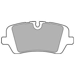 Колодки тормозные задние DELPHI LP2508LP2508