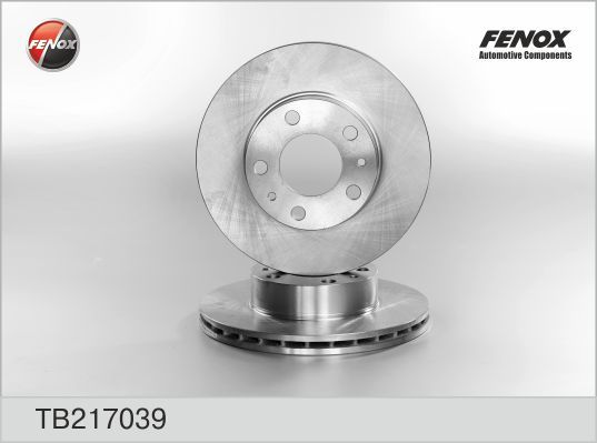 Диск тормозной Fenox TB217039 комплект 2 штTB217039