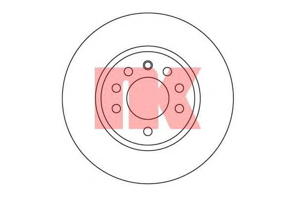 Диск тормозной NK 203630 комплект 2 шт203630