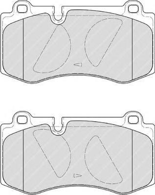 Колодки тормозные дисковые Premier Ferodo FDB4055FDB4055