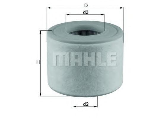 Фильтр воздушный Mahle/Knecht LX26072LX26072
