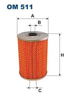 Фильтр масляный Filtron OM511OM511