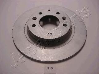 Диск тормозной Japanparts DP316 комплект 2 штDP316