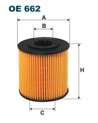 Фильтр масляный Filtron OE662OE662