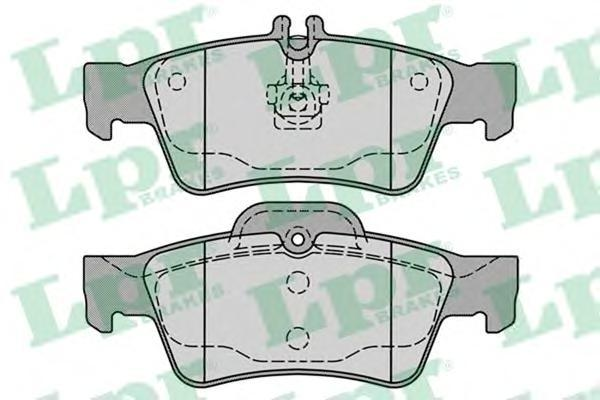 Колодки тормозные задние дисковые LPR / AP 05P123205P1232