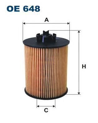 Фильтр масляный Filtron OE648OE648