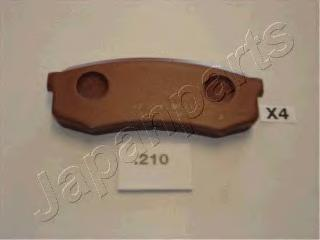 Колодки тормозные дисковые Japanparts PP210AFPP210AF