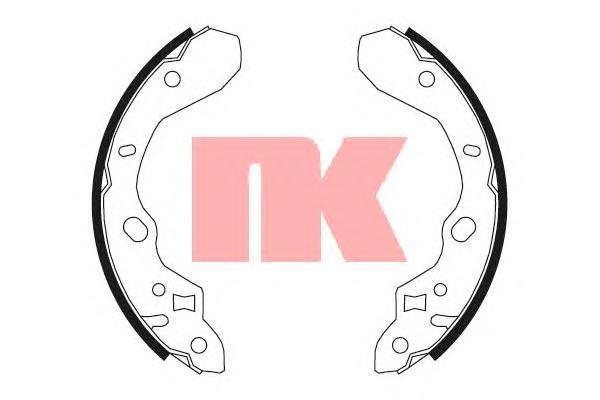 Колодки тормозные барабанные NK 27326112732611