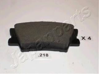 Колодки тормозные дисковые Japanparts PP218AFPP218AF