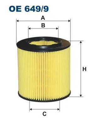 Фильтр масляный Filtron OE6499OE6499