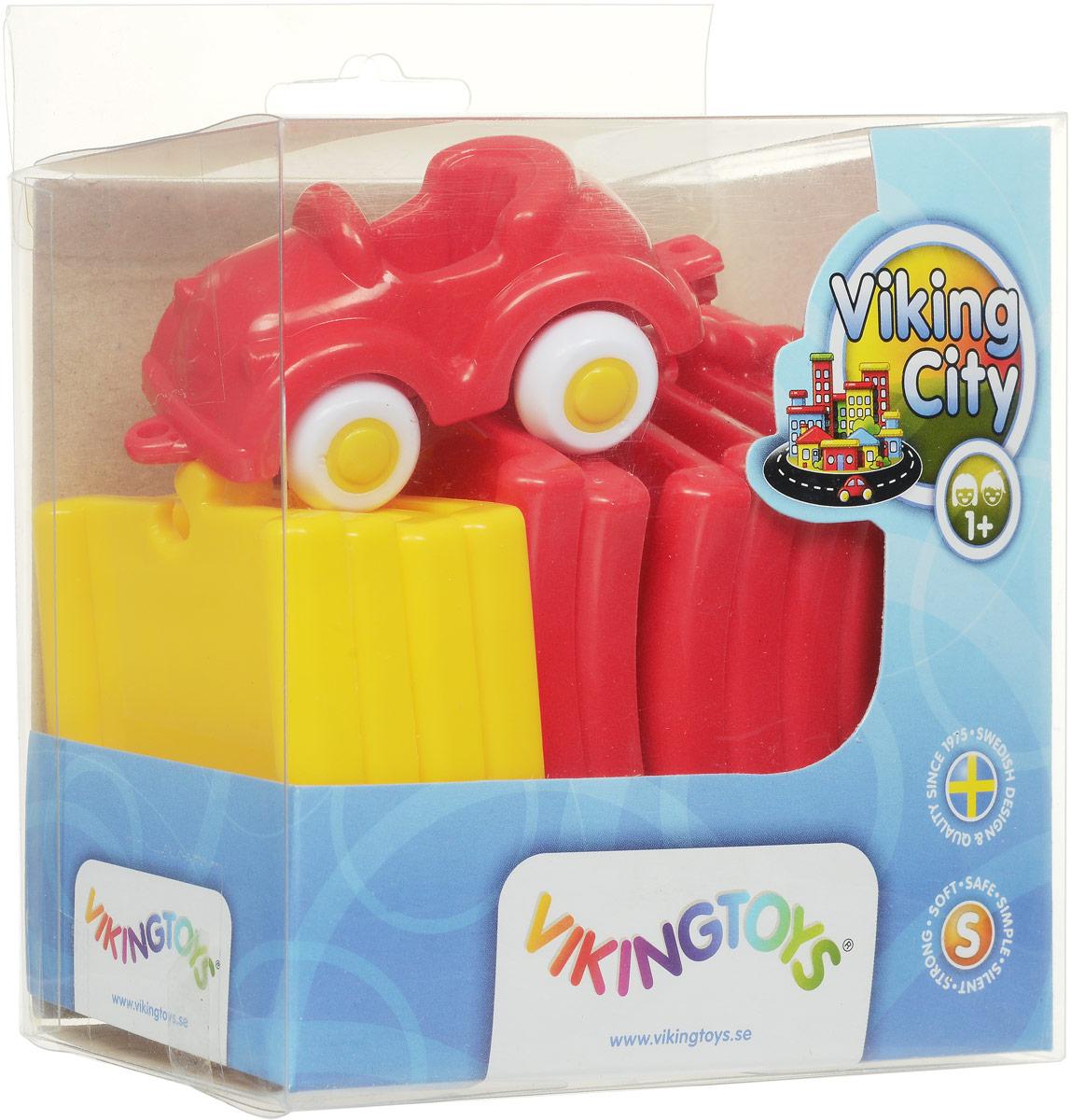 Viking Toys Игрушечный трек Дорога цвет машинки красный