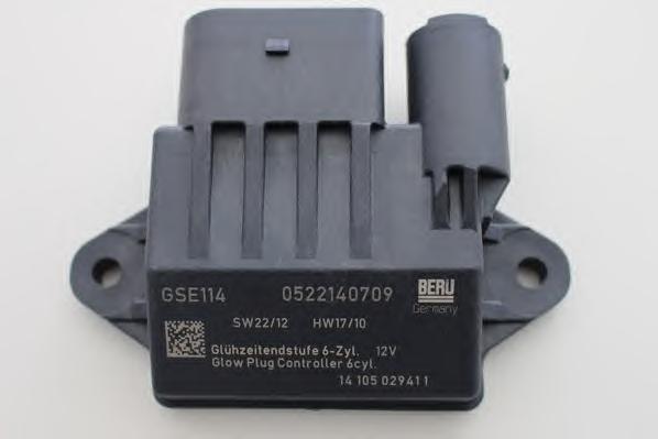 Блок управления свечами накаливания BERU GSE114GSE114