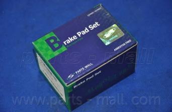 Колодки тормозные задние PMC PKB039PKB039