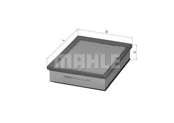 Фильтр воздушный Mahle/Knecht LX1078LX1078