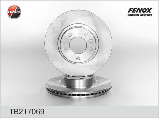 Диск тормозной Fenox TB217069 комплект 2 штTB217069
