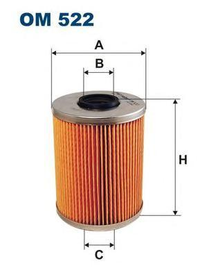 Фильтр масляный Filtron OM522OM522