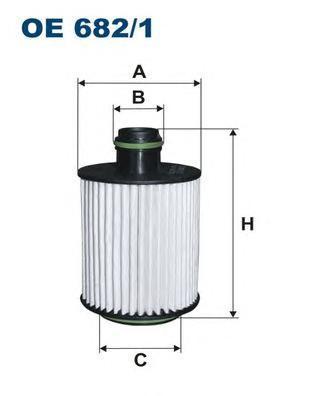 Фильтр масляный Filtron OE6821OE6821