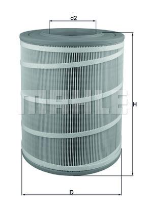Фильтр воздушный Mahle/Knecht LX3480LX3480