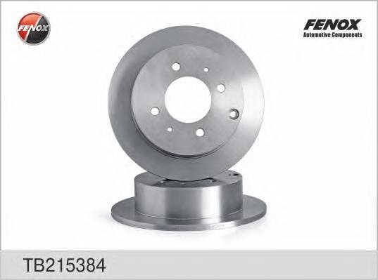 Диск тормозной Fenox TB215384 комплект 2 штTB215384
