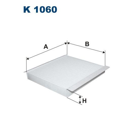 Фильтр салона Filtron K1060K1060