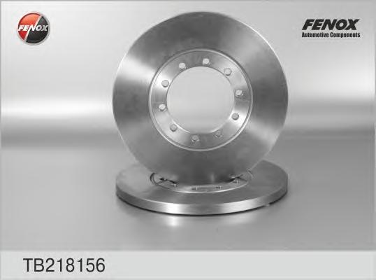 Диск тормозной Fenox TB218156 комплект 2 штTB218156