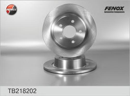 Диск тормозной Fenox TB218202 комплект 2 штTB218202