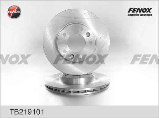 Диск тормозной Fenox TB219101 комплект 2 штTB219101