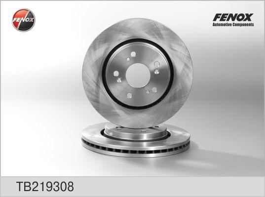 Диск тормозной Fenox TB219308 комплект 2 штTB219308