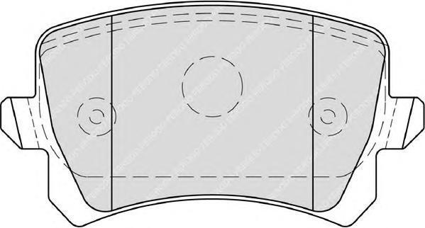 Колодки тормозные дисковые Premier Ferodo FDB4058FDB4058