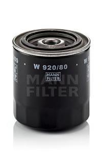 Фильтр масляный Mann-Filter W92080W92080